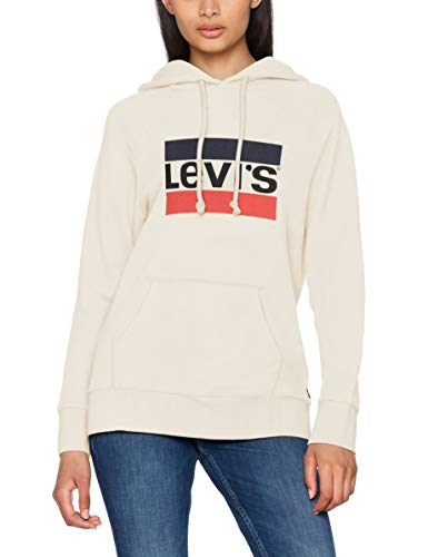 Levi's Damen Kapuzenpullover Graphic Sport Hoodie