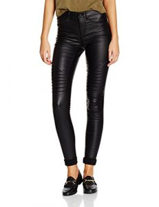 ONLY Damen Onlnew Royal Reg Sk. Biker Coated Noos Hose