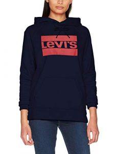 Levi's Damen Graphic Sport Hoodie Kapuzenpullover
