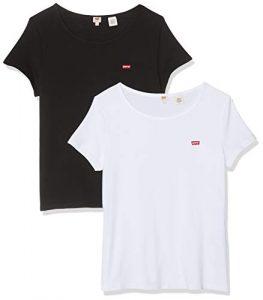 Levi's Damen 2pack Tee T-Shirt