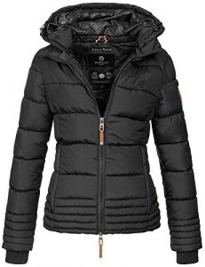 Marikoo Designer Damen Winter Jacke Steppjacke Winterjacke Stepp gesteppt B668