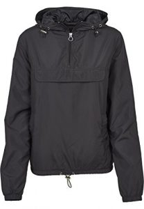 Urban Classics Damen Übergangs-Jacke Ladies Basic Pull-Over Jacket