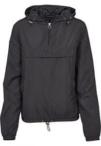 Urban Classics Damen Übergangs-Jacke Ladies Basic Pull-Over Jacket