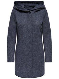 ONLY Damen Onlsedona Light Melange Coat Cc OTW Mantel
