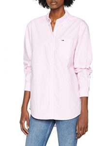 Tommy Jeans Damen Tommy Classics  Kurzarm Poloshirt Polo Shirt