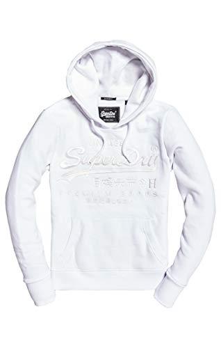 Superdry Damen Premium Goods Tonal Emb Entry Kapuzenpullover