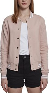 Urban Classics Damen Sweatjacke Ladies College Sweat Jacket