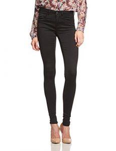 ONLY Damen Skinny Hose ROYAL SOFT REG SKIN JEGGING BLACK NOOS