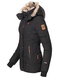 Marikoo Damen Winterjacke Steppjacke Nekoo 7 Farben XS-XXL