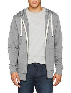 JACK & JONES Herren Jjeholmen Sweat Zip Hood Noos Sweatjacke