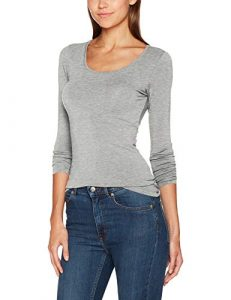 ONLY Damen Onllive Love New Ls O-Neck Top Noos Langarmshirt