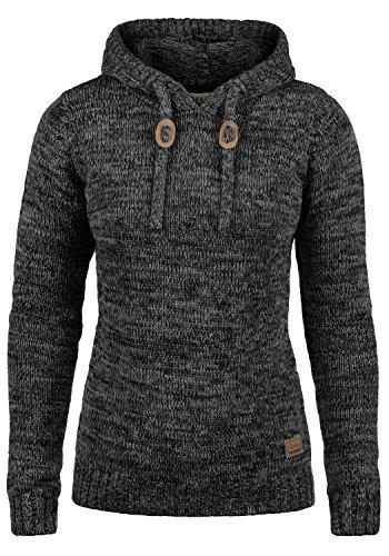DESIRES Philla Damen Strickpullover Grobstrick Pullover Mit Kapuze Aus 100% Baumwolle