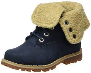 Timberland Unisex-Kinder 6 in Premium Waterproof Shearling Lined Klassische Stiefel, braun