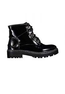 Hailys Damen Schnürstiefeletten Combat Boots Stiefel Winterstiefel