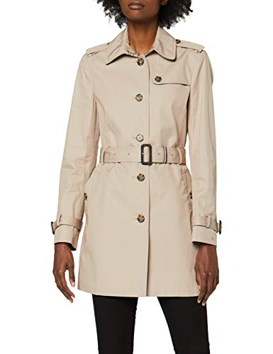 Tommy Hilfiger Damen Heritage Single Breasted Trench Mantel