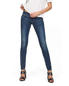 G-STAR RAW Damen 3301 Low Waist Skinny Jeans
