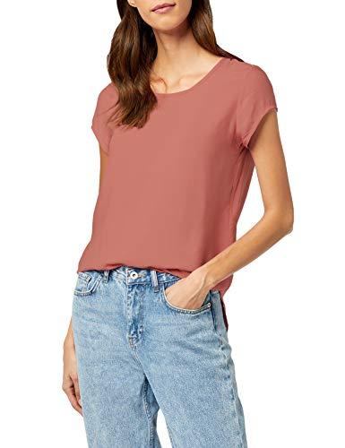 VERO MODA Damen T-Shirt Boca Ss Blouse Noos, Einfarbig