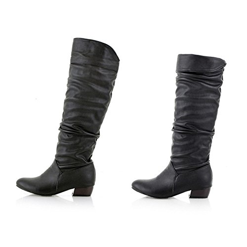 VECDY Schuhe Damen Beiläufige Flache Schuhe Boots Schuhe Vordere Reißverschluss Schuhe Oxford-Schuhe Müßiggänger Mode Stiefel 35-40