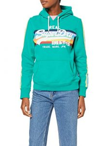 Superdry VL Retro Rainbow Hood
