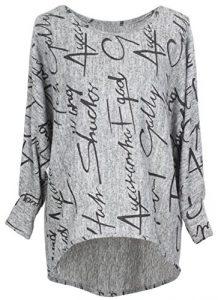 Emma & Giovanni – Pullover Sweatshirt Oversize- Damen
