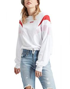 Levis Florence Crew Baby Tab CB Brilliant Red