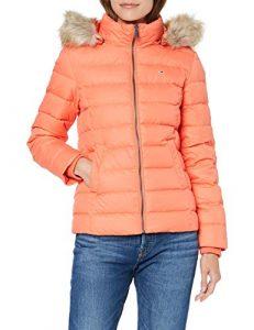 Tommy Jeans Damen Essential Hooded Down  Langarm  Jacke