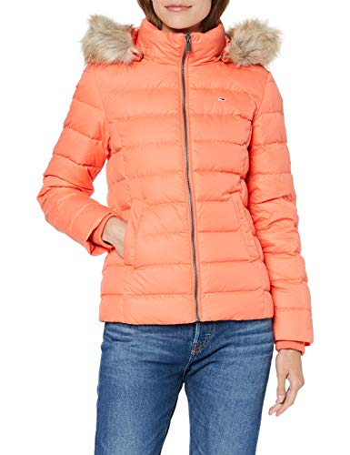 Tommy Jeans Damen Essential Hooded Down  Langarm  Jacke