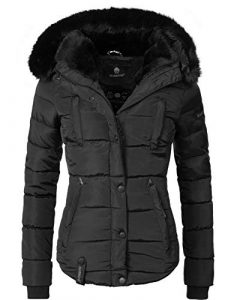 Marikoo Damen Winter Jacke Steppjacke Lotusblüte (vegan hergestellt) 9 Farben XS-XXL