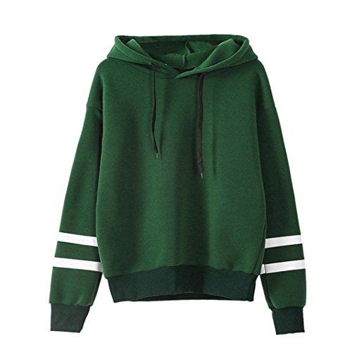 Xinan Kapuzenpullis Langarm Damen Hoodie Sweatshirt mit Pullover Tops Bluse Stickerei Kapuzen von