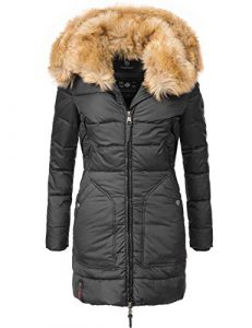 Marikoo Damen Winter-Mantel Steppmantel Knuddelmaus (vegan hergestellt) 9 Farben XS-XXL