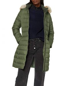 Tommy Jeans Damen Tjw Essential Hooded Down Coat Jacke