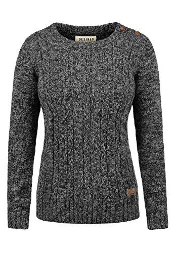 DESIRES Phia Damen Strickpullover Grobstrick Pullover 100% Baumwolle