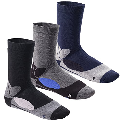 Footstar Damen und Herren Wintersocken (6 Paar), Warme Vollfrottee Socken mit Thermo Effekt
