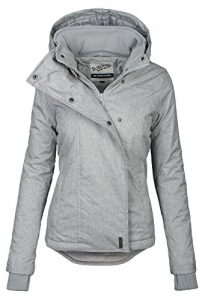 Sublevel Damen Herbst Übergangsjacke Winter warme Jacke Winterjacke Outdoor B167