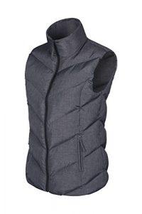 Mountain Warehouse Opal gefüttertes Damengilet – leichte Thermoweste, Reißverschlusstaschen, warm, wasserabweisend – geeignet für Winter