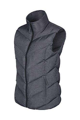 Mountain Warehouse Opal gefüttertes Damengilet - leichte Thermoweste, Reißverschlusstaschen, warm, wasserabweisend - geeignet für Winter