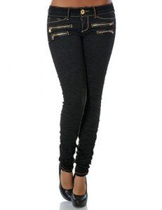 Damen Jeans Hose Skinny Röhre DA 14089