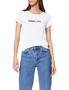 Tommy Jeans Damen Tjw Essential Slim Tee T-Shirt