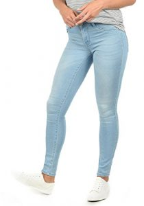 ONLY Feli Damen Jeans Denim Hose Röhrenjeans Aus Stretch-Material Skinny Fit