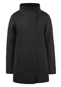 DESIRES Wolke Damen Winterjacke Mantel Wollmantel Jacke mit Stehkragen