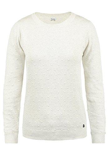 DESIRES Kiki Damen Strickpullover Feinstrick Pullover Mit Rundhals Aus 100% Baumwolle