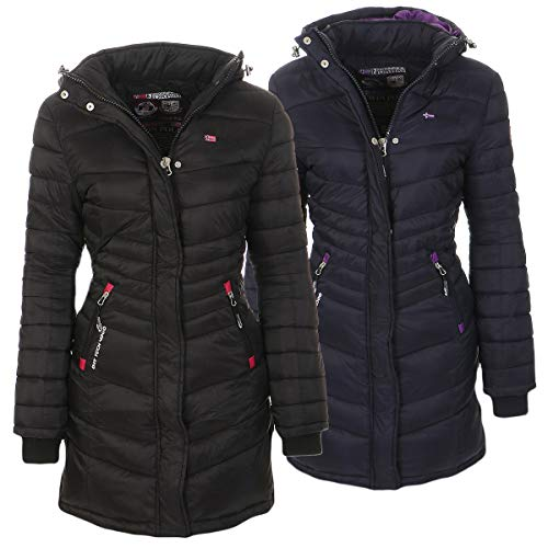 Geographical Norway Damen Jacke Steppmantel Carless