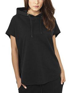 Urban Classics Damen Sweatshirt Ladies Sleeveless Terry Hoody
