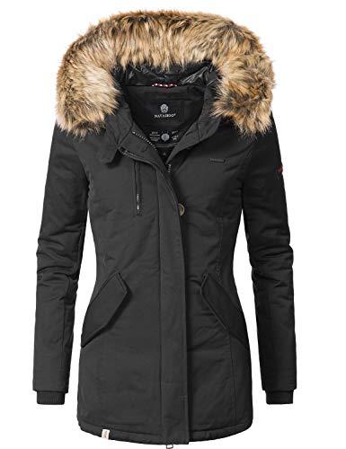 Navahoo Damen Winterjacke Wintermantel Nisam 13 Farben XS-XXL